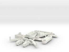 SP3 Spare Parts for CK3 Chassis Kit in White Strong & Flexible