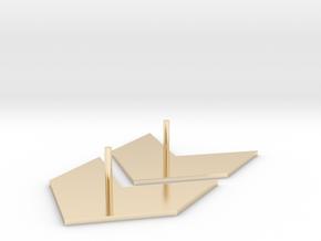 Earrings - Arrow (E/0001) in 14k Gold Plated Brass