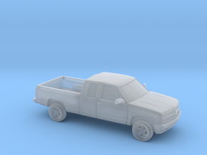 1/87 1994 Chevrolet Extended Cab in Smooth Fine Detail Plastic