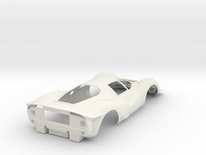 Ferrari 330 P4 - Kit 01 in White Natural Versatile Plastic
