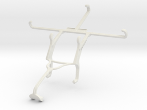 Controller mount for Xbox 360 & Lenovo P2 in White Natural Versatile Plastic