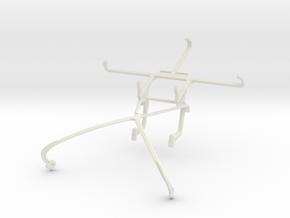Controller mount for Shield 2015 & Lenovo P2 in White Natural Versatile Plastic