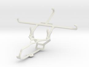 Controller mount for Steam & Lenovo P2 - Front in White Natural Versatile Plastic