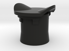 Blank Plug for Volvo 12V Cigarette Lighter Socket in Black Natural Versatile Plastic