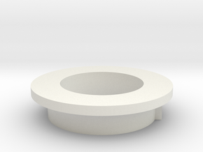 gaming tank Turret Connector  in White Natural Versatile Plastic