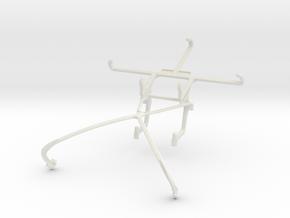 Controller mount for Shield 2015 & Lenovo Vibe S1 in White Natural Versatile Plastic