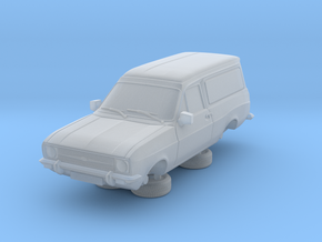 1:87 escort mk 2 2 door van round headlights in Smooth Fine Detail Plastic
