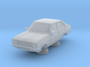1:87 escort mk 2 4 door standard round headlights in Frosted Ultra Detail
