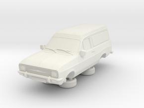 1-76 Escort Mk 2 2 Door Van Round Head Lights in White Natural Versatile Plastic