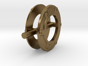 Evangeline_ring in Natural Bronze