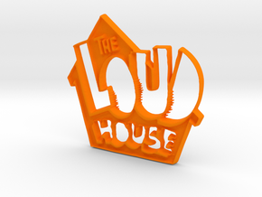 Loud House Logo in Orange Strong & Flexible Polished