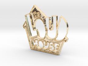 Loud House Logo in 14K Yellow Gold