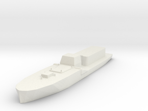1/285 Scale IJN Command Boat in White Strong & Flexible