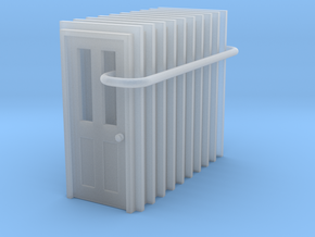 Door Type 6 - 810 X 2000 X 10 in Smooth Fine Detail Plastic: 1:160