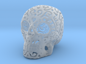 Skull Fine Pattern in Smooth Fine Detail Plastic