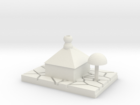 Casa Desierta - Desert House in White Natural Versatile Plastic