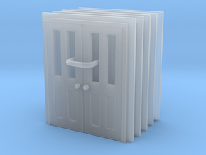 Door Type 7 - 760D X 2000 X 5 in Smooth Fine Detail Plastic: 1:148