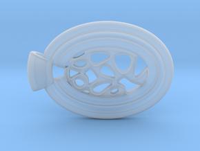 Regions in Smooth Fine Detail Plastic