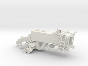 1/64 Classic Baler Lower Body in White Strong & Flexible