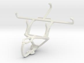 Controller mount for PS3 & Microsoft Lumia 550 in White Natural Versatile Plastic