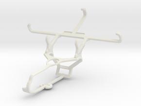 Controller mount for Steam & Microsoft Lumia 550 - in White Natural Versatile Plastic
