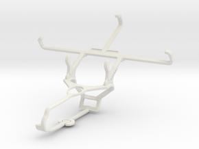 Controller mount for Steam & Motorola Droid Maxx 2 in White Natural Versatile Plastic