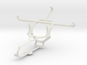 Controller mount for Steam & Panasonic Eluga Arc - in White Natural Versatile Plastic