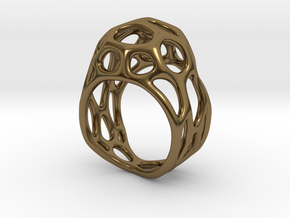Ring Gemmi in Polished Bronze: 4 / 46.5