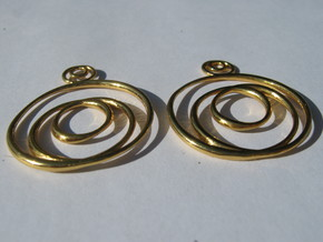 Choncoid Earrings in 18K Gold Plated