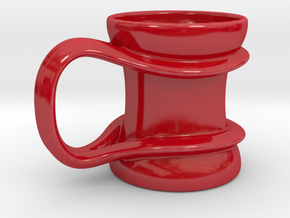 Handi Cup  in Gloss Red Porcelain