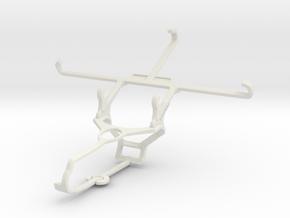 Controller mount for Steam & Sony Xperia Z5 Premiu in White Natural Versatile Plastic