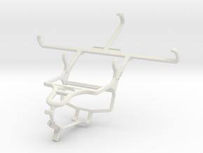 Controller mount for PS4 & Vertu Signature Touch ( in White Natural Versatile Plastic