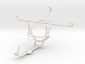 Controller mount for Steam & verykool SL4502 Fusio in White Natural Versatile Plastic