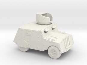 Beaverbug (1/43 scale, 40mm) in White Natural Versatile Plastic
