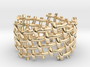 Woven Twisted Ring in 14K Yellow Gold: 5 / 49
