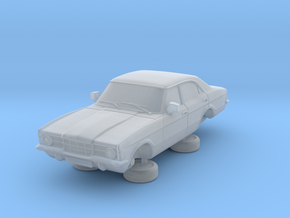 1-87 Ford Cortina Mk3 4 Door Standard Single Hl in Smooth Fine Detail Plastic