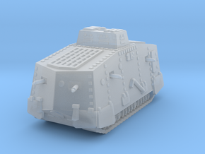 1/144 WW1 A7V tank in Smooth Fine Detail Plastic