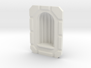28mm Alcove MDF Building Accessory in White Strong & Flexible