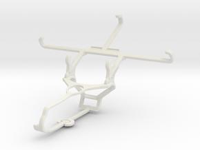 Controller mount for Steam & ZTE Blade L5 Plus - F in White Natural Versatile Plastic
