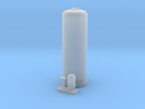 Acetylene Cylinder 1/24 scale in Frosted Ultra Detail