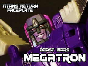 Beast Wars Megs, Grin (Titans Return) in Frosted Ultra Detail
