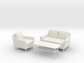 Retro Collection in White Natural Versatile Plastic: 1:24