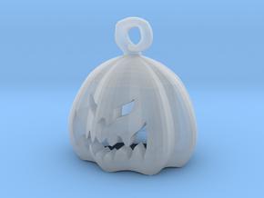 Mini Pumpkin  in Smooth Fine Detail Plastic