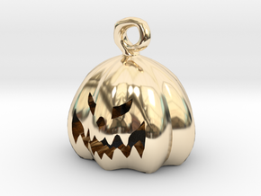 Mini Pumpkin  in 14K Yellow Gold