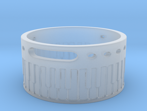 C# Keyboard (Ring Size 4-13)  in Smooth Fine Detail Plastic: 13 / 69