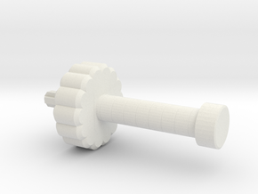 Lance Blade: Sword Hilt in White Natural Versatile Plastic