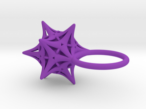 Ersilia -Ring- in Purple Strong & Flexible Polished