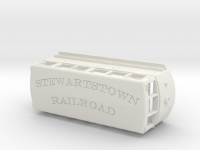 1936 ERIE Railbus #300 Stewartstown RR V2 in White Strong & Flexible