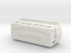 1936 ERIE Railbus #300 Stewartstown RR V2 in White Natural Versatile Plastic