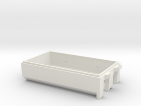 woodstock Bottom Std in White Natural Versatile Plastic